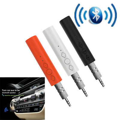 Bluetooth 3.5mm AUX Car Stereo Audio Music Receiver Wireless Handsfree Adapter
