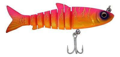 "Zerek Live Mullet 3.5"" Col VO 18g Soft Body Jointed Swimbait Fishing Lure"