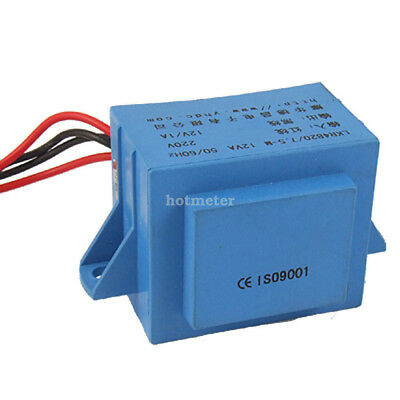 LKR4820/7.5-M 12V/1A Voltage Converter Transformer Blue 7.2 cm x 4.3 cm x 3.8 cm