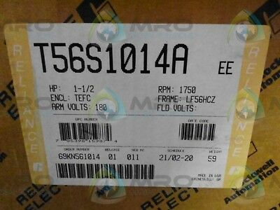 Reliance Electric T56S1014A  Ee *new In Box*
