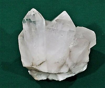 Very Nice Large Natural Clear Quartz Crystal Point Cluster Specimen 793 Grams