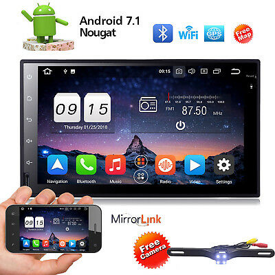 Quad core 2 din android 7.1 2din universal Car Radio Double Car GPS Navigation