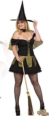 NEW Secret Wishes Wizard of Oz Wicked Witch of the West Adult Plus 14-16 Costume