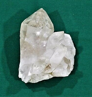 Very Nice Large Natural Clear Quartz Crystal Point Cluster Specimen 650 Grams