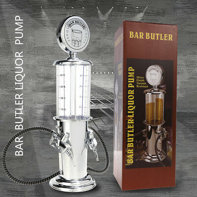 Double Guns Gas Pump Bar Drinking Beer Beverage Alcohol Liquor Dispenser AU