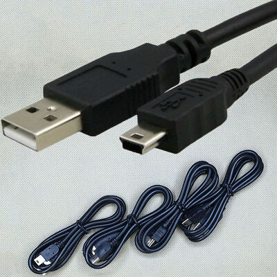 HOT GPS Data Charger Sync Cable Cord USB 2.0 A to Mini B 5 Pin Male For MP3 MP4