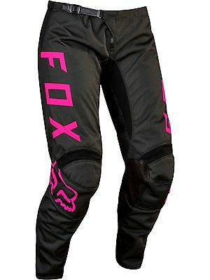 2017 Fox 180 Womens Black/Pink Pants