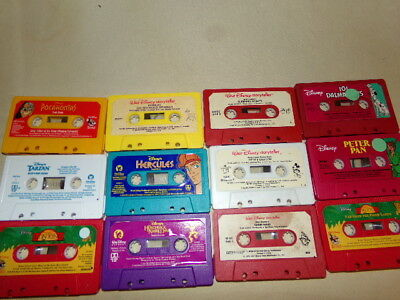 12 -- Disney Read Along Story / Storyteller  Tapes