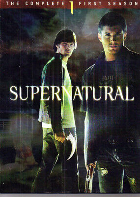 Supernatural:  The Complete First Season 1 Boxed Set 6 DVD's