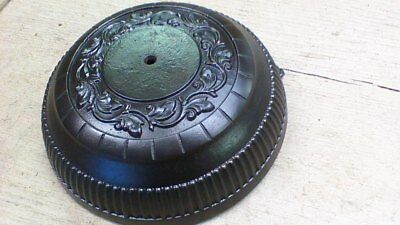 Antique Cast Iron wall or ceiling Mount Victorian Era Ornate piece.