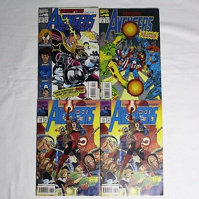 Avengers Terminatrix, Bloodties Vintage Comic Book Lot Of 4