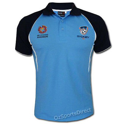 HAL Sydney FC Stadium Polo  Sizes S - XL  **SALE PRICE**