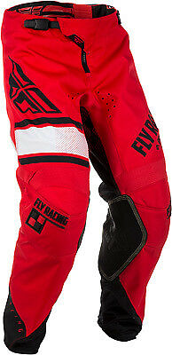 Fly Racing, Kinetic Era Pant Red/Black Size 30 - 371-43230 Kinetic Era 371-43230