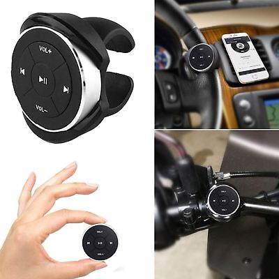 Car Auto Bluetooth Media Button Steering Wheel Remote Control MP3 Music Play new