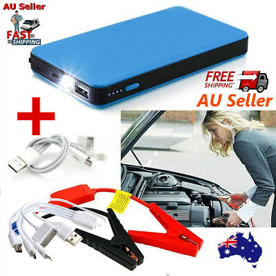 20000mAh Handy Vehicle Car Jump Starter Booster Charger Battery Power Bank Red