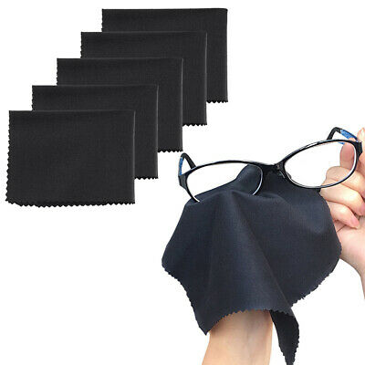 5-Pack Premium MicroFiber Cleaning Cloth For Phones EyeGlass Camera Lens Screen