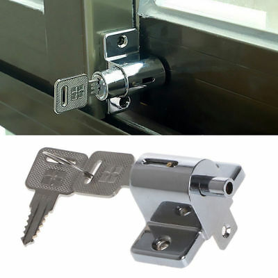 Pin Push Child Safety Lock Zinc Sliding Window Patio Screw Door Locking