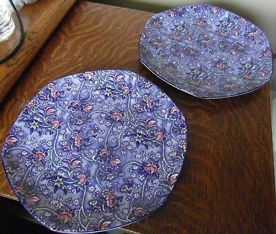 """2 x Rington's """"Chintz"""" Plates (19.5cm) - never used so lovely condition"""
