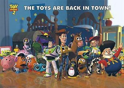 Toy Story 2 Filmposter The Toys Are Back In Town