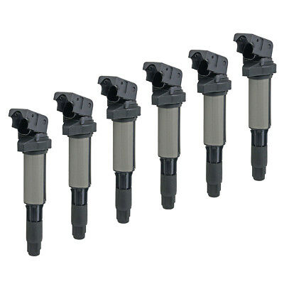 6pcs Ignition Coil Packs 12131712219 For BMW E39 E60 E61 520i 523i 525i 530i M54