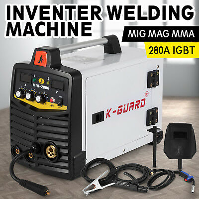 MIG MAG MMA Inverter Weldeing Machine 280 Amp Compact Reliable Safe ON SALE