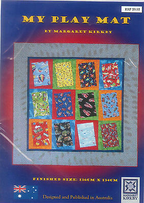 """Quilting/Patchwork Pattern """"My Play Mat"""" ** FREE POSTAGE **"""