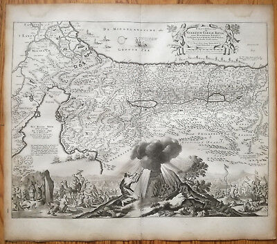 STOOPENDAL Decorative Map Israel Travel Exodus Israelites  - 1720