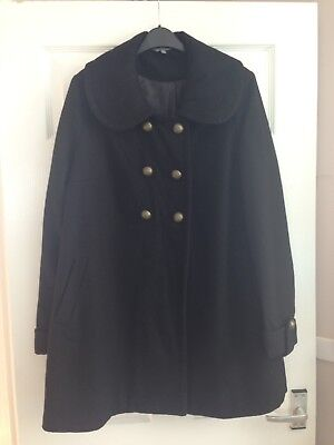 New Look Maternity Coat Size 14