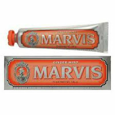 Marvis Toothpaste Ginger Mint  & Amorelli Licorice  75 ml Tubes