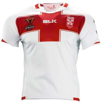 CLEARANCE SPECIAL  BLK England World Cup Rugby League Jersey Junior Sizes