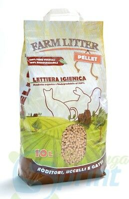 FARM LITTER PELLET 10 LITRI lettiera in pellet