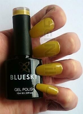 Bluesky AW03 BANANA TREE Mustard Yellow UV LED Soak Off Gel Nail Polish 10ml