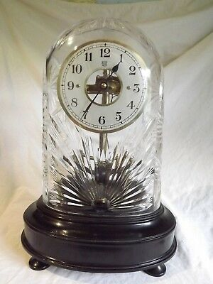 """Bulle"" Electric Clock & Dome."
