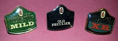 THEAKSTON Brewers Enamel Pin Badge x 3 Mild, Old Peculier & XB in good condition