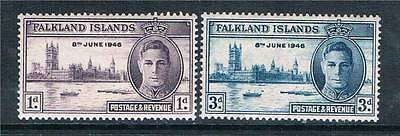 Falkland Is 1946 Victory SG164-5 MNH