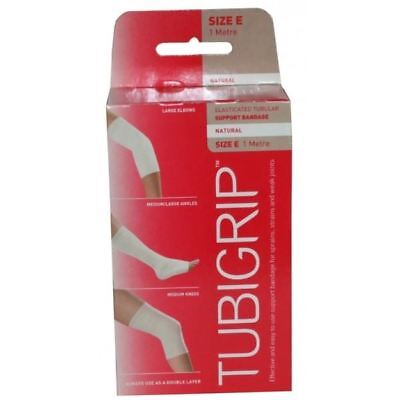 Tubigrip Elasticated Tubular Support Bandage 1m Size E - 6 Pack