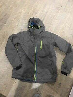 Crane Snow Jacket Grey Size M Mens