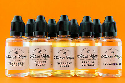 3x 30ml - Premium Liquid Juice e Flavours - Choose from our Flavour Menu