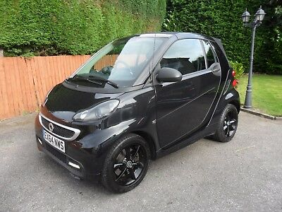 2014/64 Smart Fortwo Grandstyle Edition Convertible Auto, Leather, Sat Nav 18K