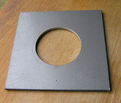 """Calumet 4x4"""" metal  lens board panel with 49mm hole 105822"""
