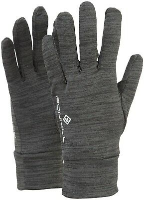 Ronhill Victory Running Gloves - Grey