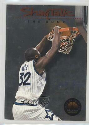 06a04ed8e7d 1993 Skybox Premium Shaq Talk  4 Shaquille O Neal Orlando Magic Basketball  Card