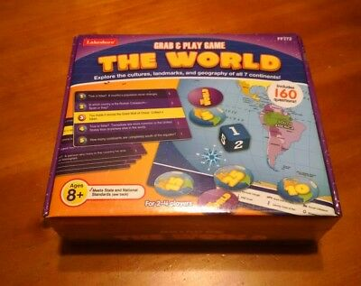 Lakeshore The World grab and play game sealed new