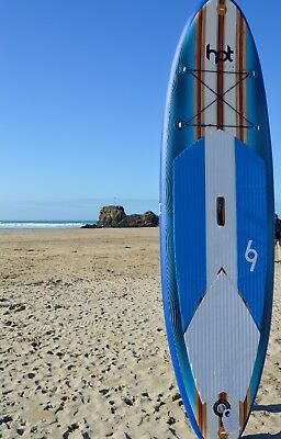 """10""""2ft Inflatable Stand Up Paddle Board Package deal ISUP Hot Surf 69 """"The Bug"""""""