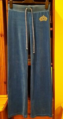 Juicy Couture  Electrical Blue Tracksuit Bottom / Trousers XS