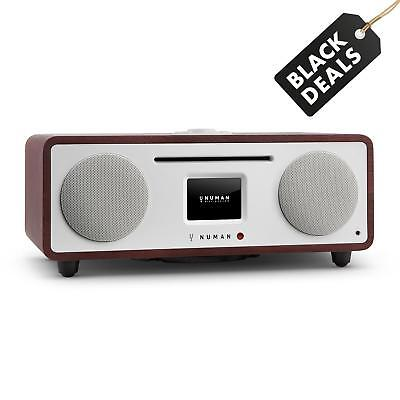 Numan Two 2.1 Radio Digitale Dab+ Fm Lettore Cd Integrato Wifi Wlan Bluetooth
