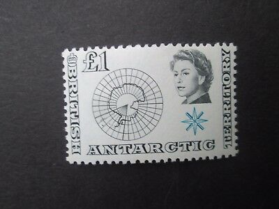 British Antarctic Territory SG15 £1 U/Mint-Read main descriptions/scans.Lot 2/6.