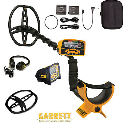 Garrett Ace 400i with Z-Lynk Wireless Headphone System