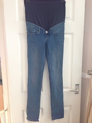 H&M Over Bump Maternity Jeans Size 12