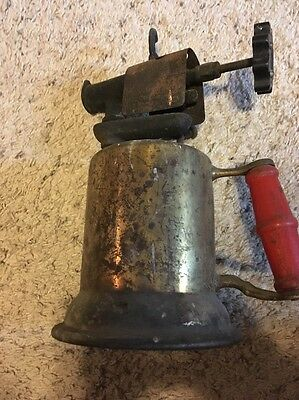 Vintage Brass Blow Torch Collectable Antique Turner Brass Works, Sycamore ILL